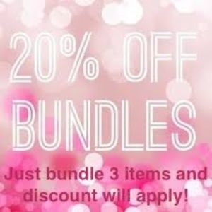 ❗️Bundle at least 3 items and save 20%❗️